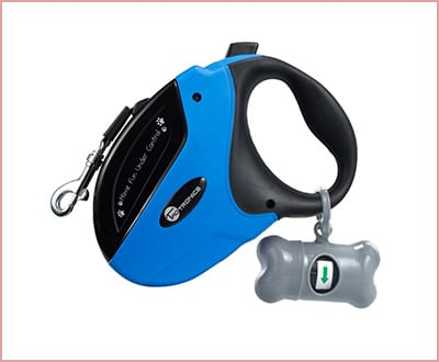 TaoTronics retractable dog leash for medium and large dogs