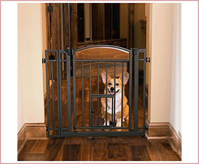 The Design Studio walk through gate for dogs