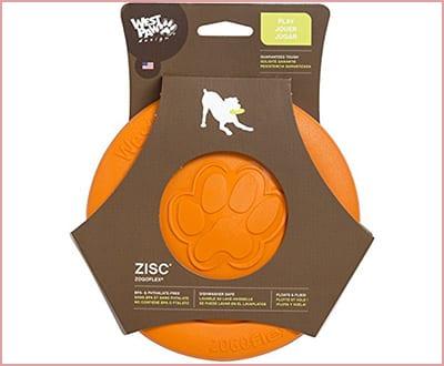 West Paw design zogoflex zisc dog toy