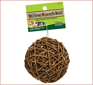 critter ware willow branch ball