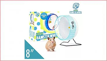 Love Hamster Wheel 8 Inch