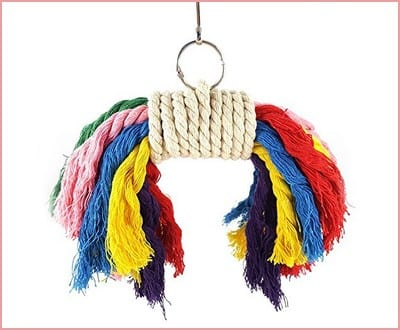 Rypet Parrot Colorful Rope Toy