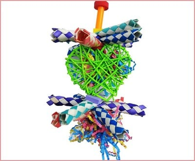 Bonka Bird Toys 1730 Foraging Heart Bird Toy