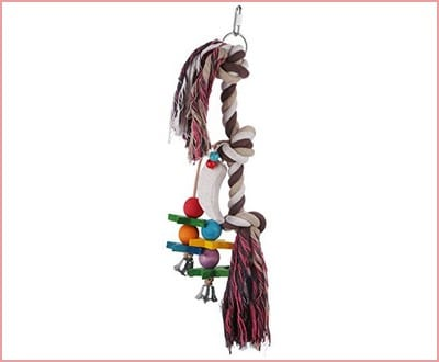 Etrech Knots Block Chewing Parrot Toy