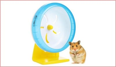 Love Hamster Wheel | Quiet 6.89 Inches Hamster Gerbil Rat Silent Spinner