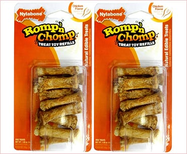 Nylabone Romp'n'Chomp Treat Toy