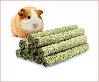 Best Uligota All Natrural Grass Chew Toys for Hamsters