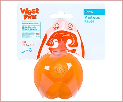 West Paw ZogoFlex Ball Pitbull Chew Toys