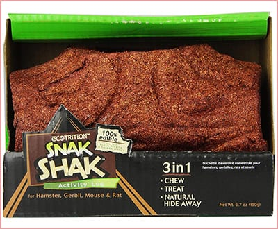 Best eCotrition snak shak Chew Toys for Hamsters