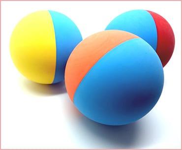 Snug Rubber Dog Balls Toys