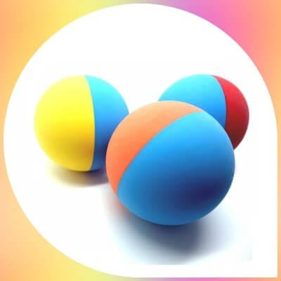 Snug Rubber Dog Balls  in various colors