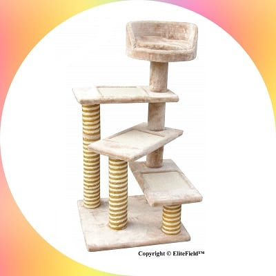 EliteField cat tree scratcher furniture condo