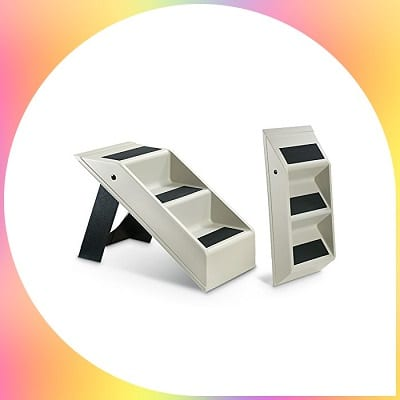 Etna plastic folding steps stairs for dogs