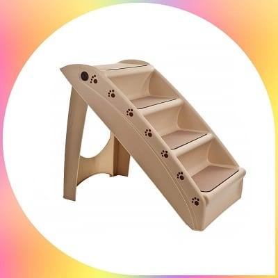 PETMAKER foldable pet steps dog staircase