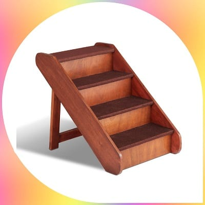 Solvit PupSTEP wood stairs pet steps