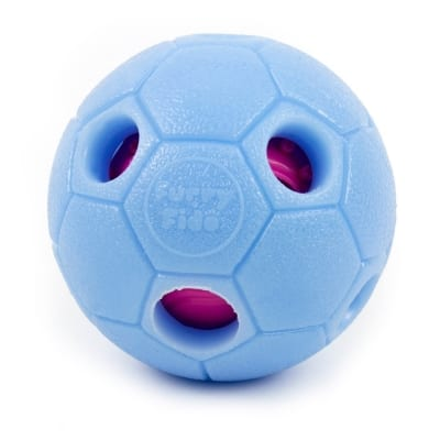 Furry Fido IQ dog treat ball puzzle