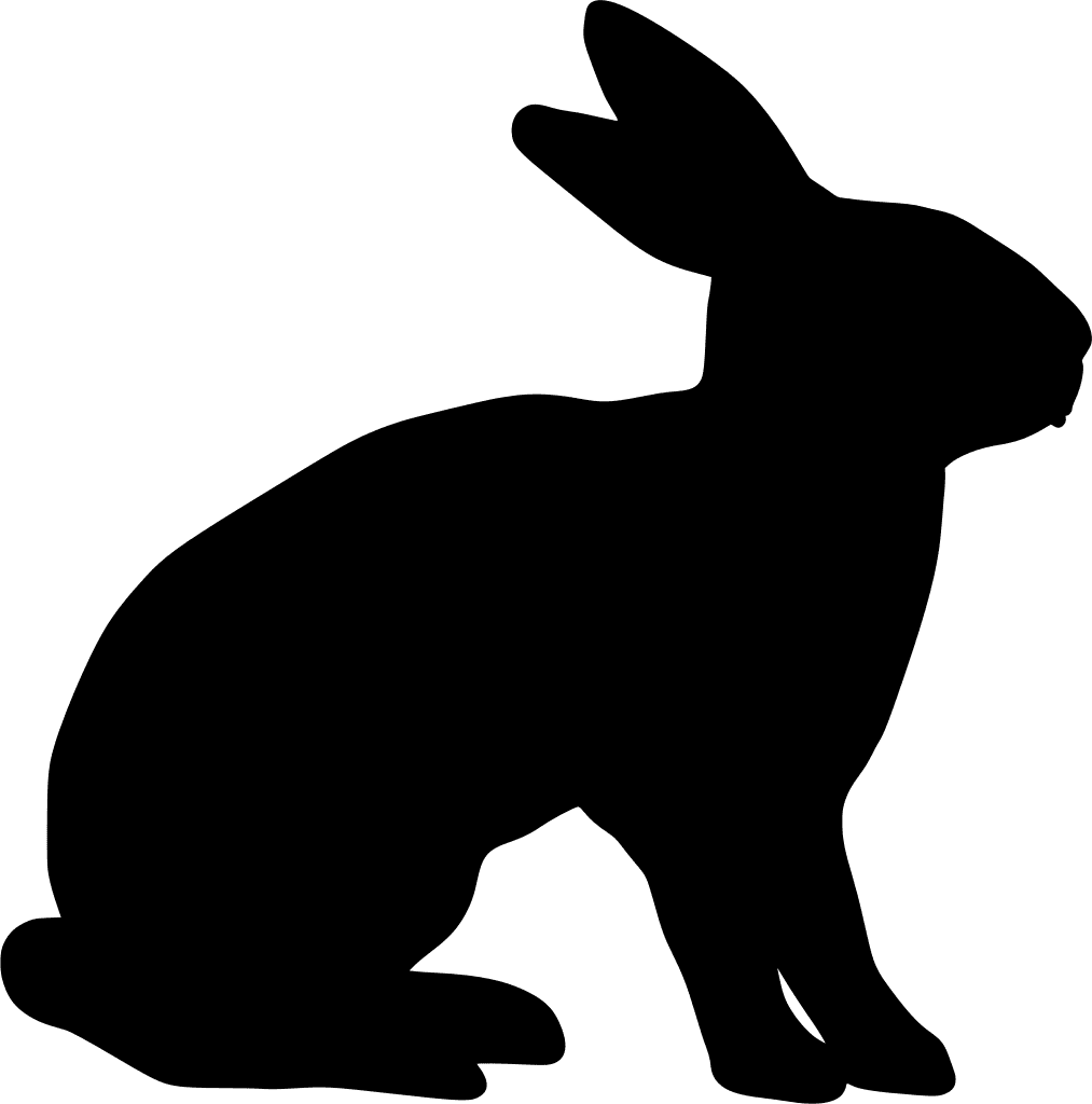 rabbit shape