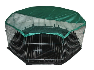 BUNNY BUSINESS 8-Panel Playpen