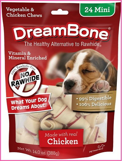 DreamBone Mini Dog Bone Chews