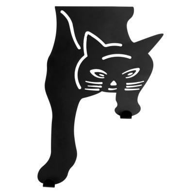 Evelots Over the Door Hanger-Kitty Cat-2 Hooks