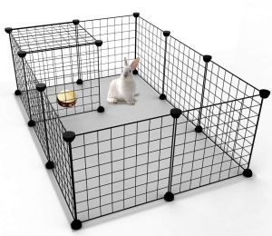 JYYG Small Pet Pen Bunny Cage Dogs Playpen