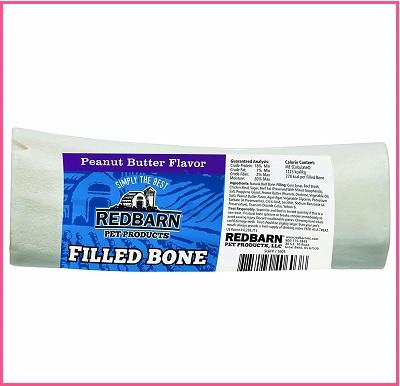 Redbarn Peanut Butter Filled Bone Treat