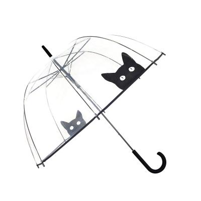 SMATI Stick Umbrella Dome Transparent