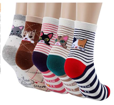 cute animal socks for girls