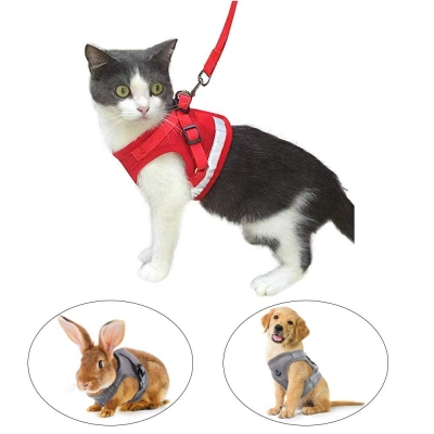 Escape Proof Cat Harness and Leash