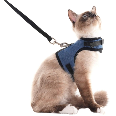 SCENEREAL Escape Proof best Cat Harness and Leash