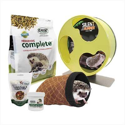 Exotic Nutrition Hedgehog Starter Pack