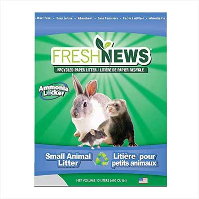 Fresh News Paper Small Animal Litter