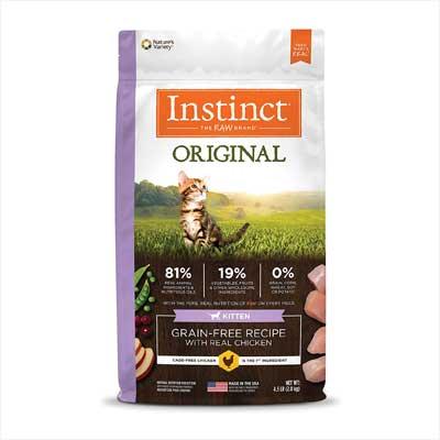 Instinct Original Kitten Grain Free Cat Food
