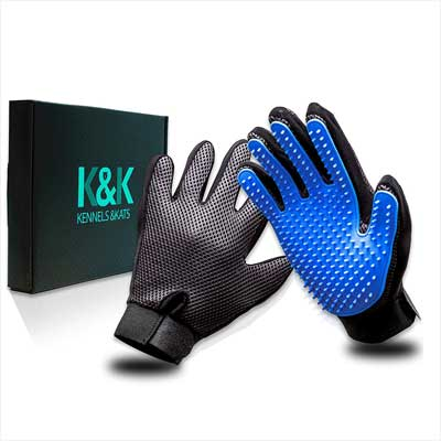 Kennel & Kats Pet Grooming Glove Set