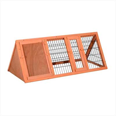 PawHut Wooden Outdoor Hutch