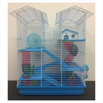 Twin Tower Hamster Cage2