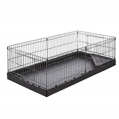 AmazonBasics Canvas Bottom Pet Cage