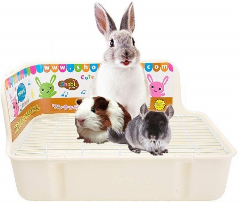 Amukunft Square Potty Trainer Litter Box