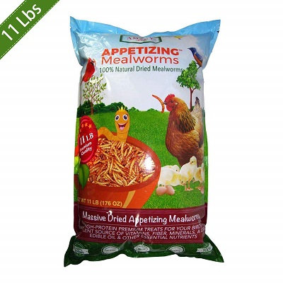 Amzey Dried Mealworms