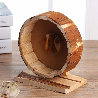 Bestmomories Wooden Exercise Wheel