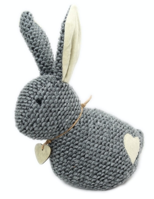 Carousel Home Take Me Home Chunky Knitted Rabbit Door Stop