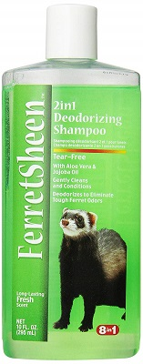 Eight in One FerretSheen 2-in-1 Deodorizing Shampoo
