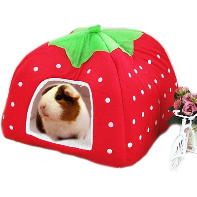 FLAdorepet Small Animal Cage Nest Accessory