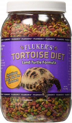 Fluker's Land Turtle Formula Tortoise Diet (7 Oz)