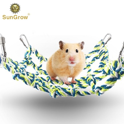 Hamster Climbing Cotton Rope Nets
