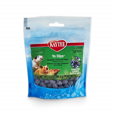 Kaytee Fiesta Blueberry Flavored Yogurt Dipped Treats