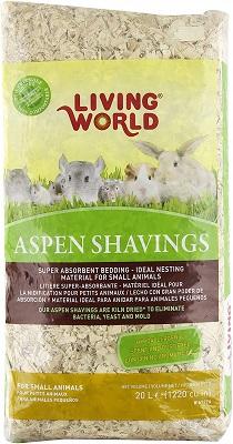 Living World Aspen Shavings