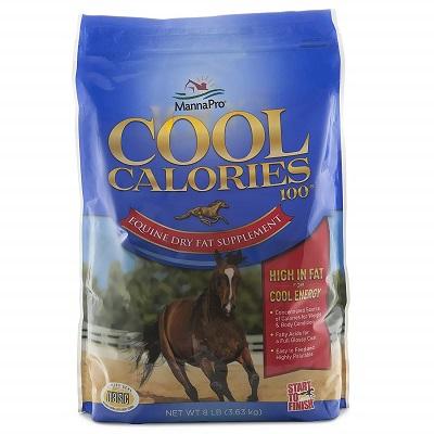Manna Pro Cool Calories 100 Fat Supplement for Horses