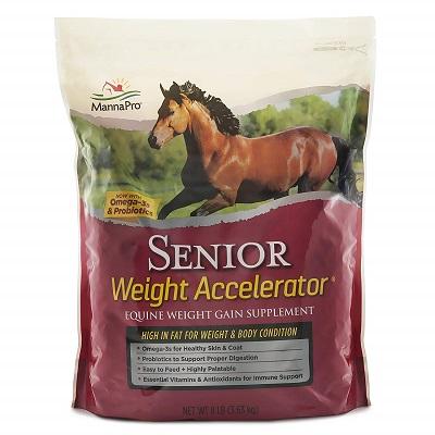 Manna Pro Senior Weight Accelerator for Horses