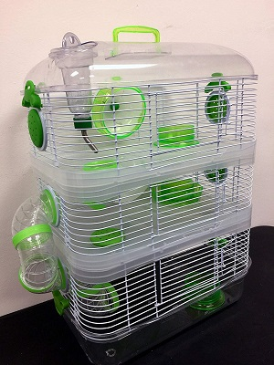Mcage 3-Level Rodent Habitat